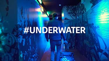 #underwater making of
